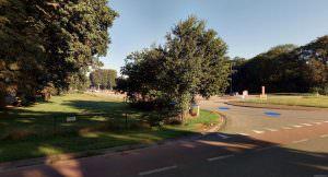 Heerenveen Thialf hoek Heremaweg