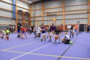 basketballende jeugd