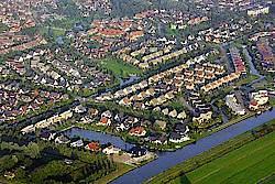 Nijehaske luchtfoto