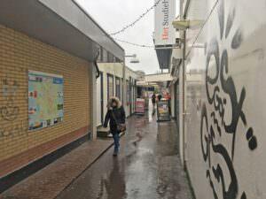 Foto Romkessteeg centrum Heerenveen