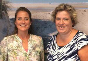 VVE-toeleiders Mireille Prins en Judith Tijsma