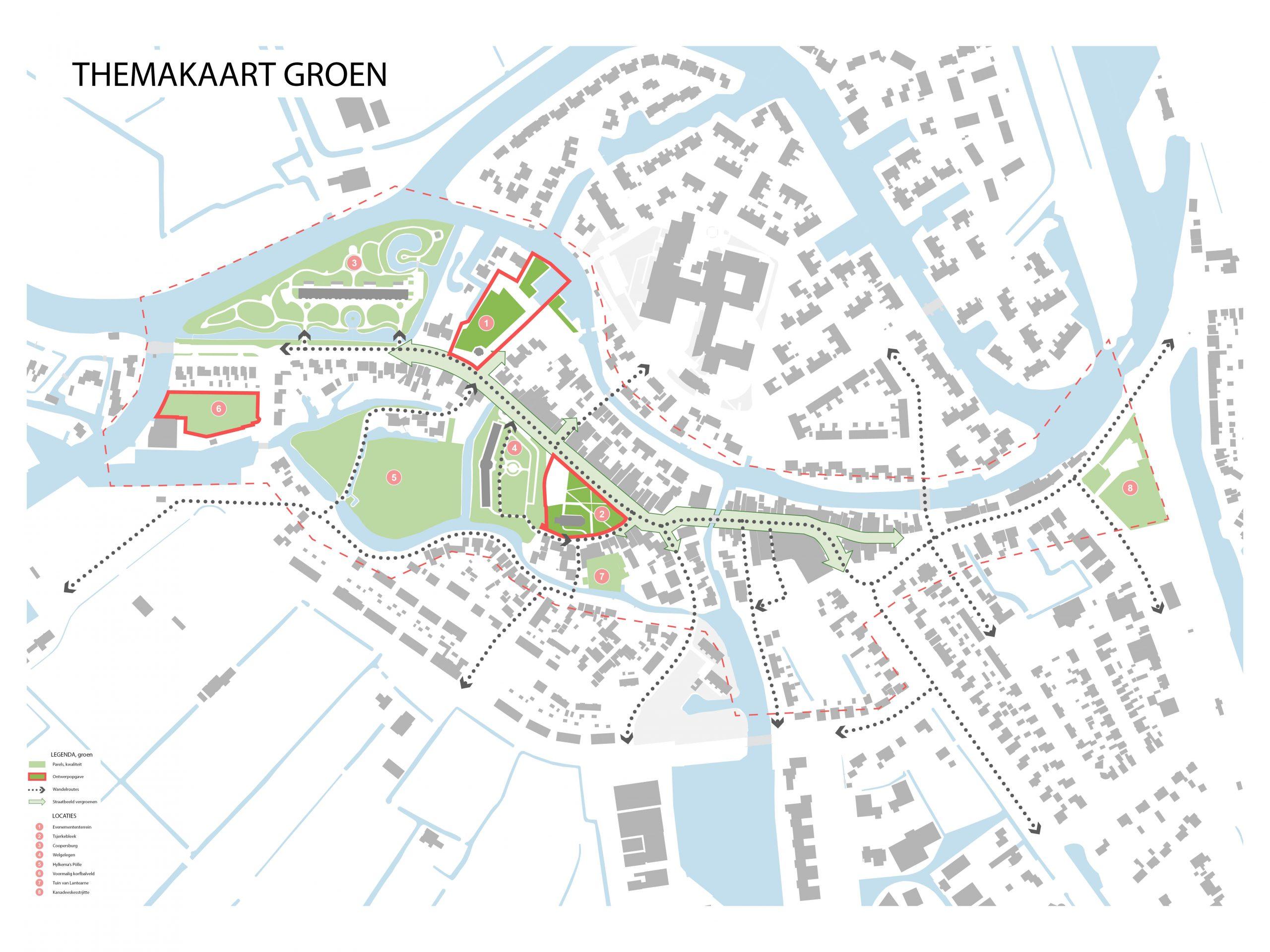 Kaart 3: Groen (bomen etc.)